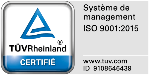 Logo certification ISO Total repair group